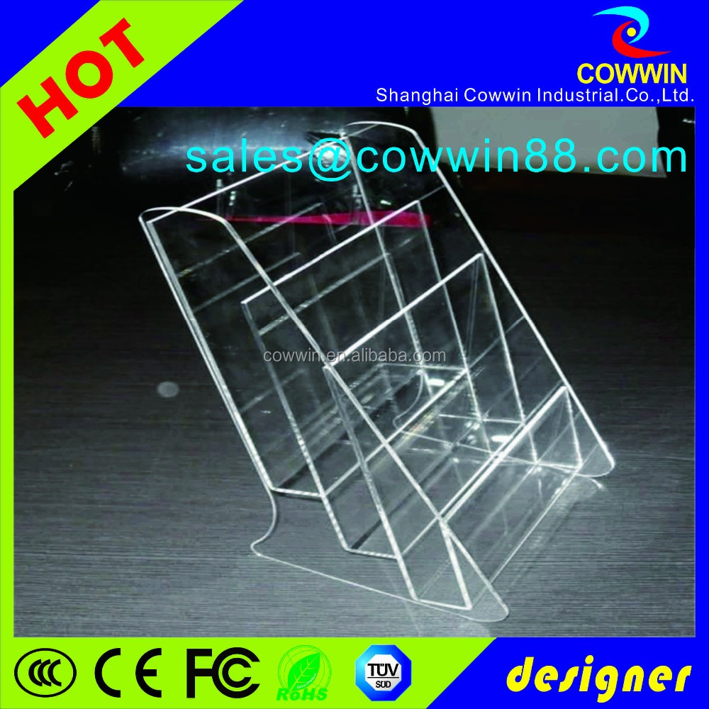 Wholesale acrylic jewelry display case with lock, clear acrylic countertop bakery display case