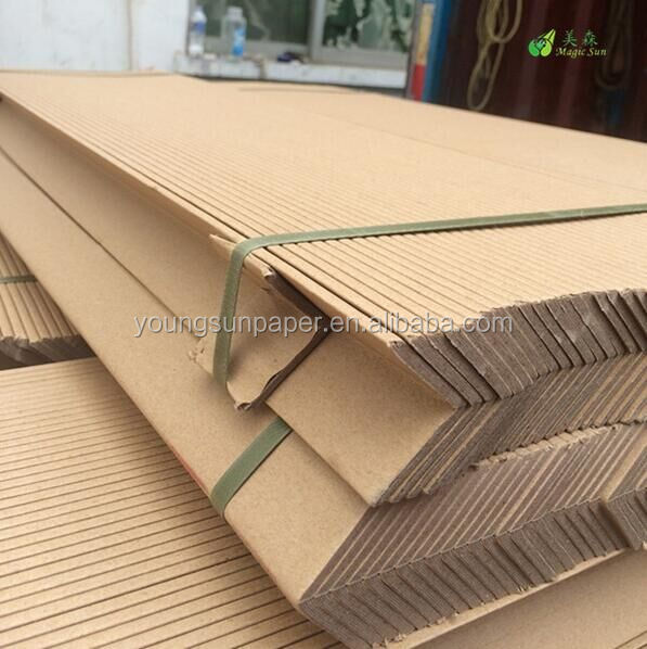Strong Kraft Paper Corner Protection