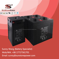 2V 300AH Maintenance Free Sealed Lead Acid VRLA battery Solar Accumulator