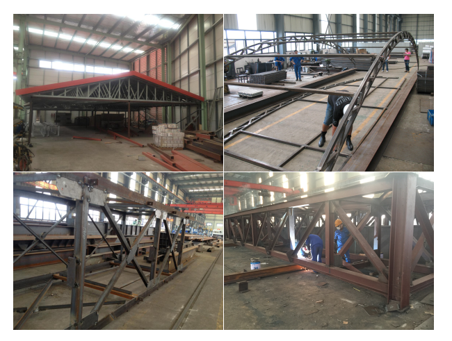 2017New design and lower price manufacture workshop warehouse steel structure building with CE certifacation