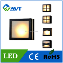 Manufacturer Aluminium and Arylic wall mounted 6W 10W led panel light exterior IP20 IP54