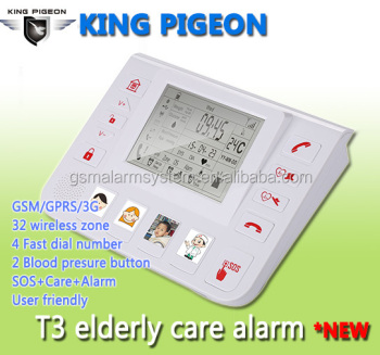 KP-T4 WCDMA Elderly care for Senior Life Telecare alarm System