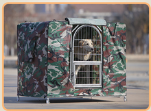 Folding Metal Wire Steel Dog Cage with High Quality