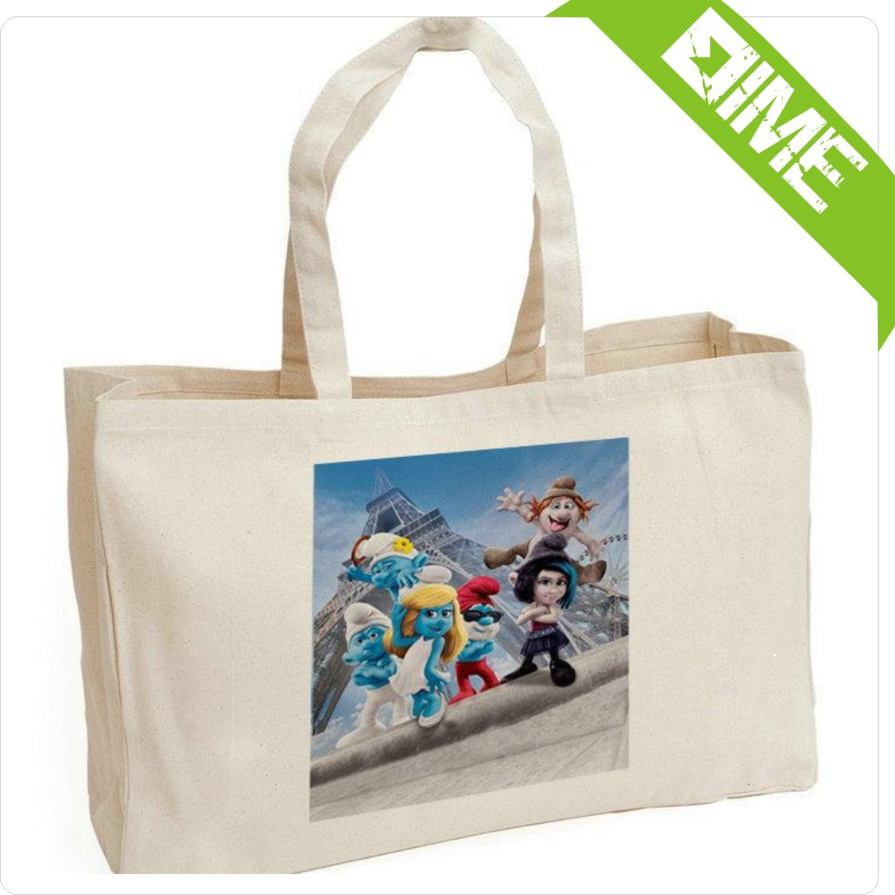 Promotion Compact Reusable Shopping Bag Waiting For Your Design