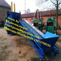 Hydraulic vertical rice and wheat straw baling machine/straw hay baler press machine