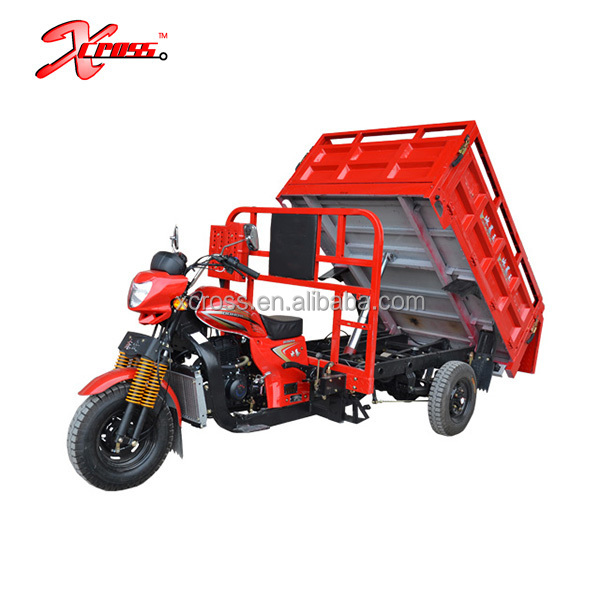 Cheap 250cc Water Cooled Cargo Tricycle Three Wheels Motorcycles For Sale Xcargo250H