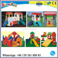 Long plastic slide good quality cheap equipment indoor playground small plastic slide