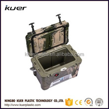 special custom color platic ice cooling cooler from Kuer plastic cooler box manufacturer
