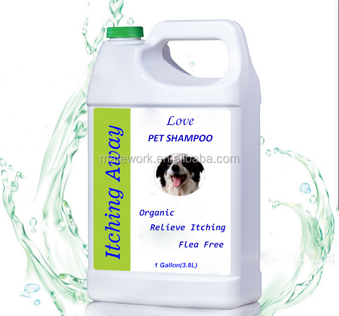 OEM Organic Itching-away Natural Pet Shampoo, Gentle Dog Cat Shampoo
