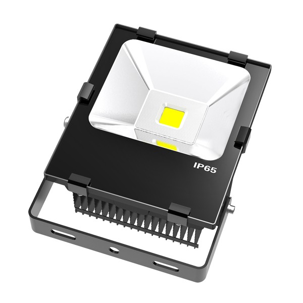 Long Lifespan Anti-Explosive Cob Led 100W 6500K Led Flood Light For Football Stadium