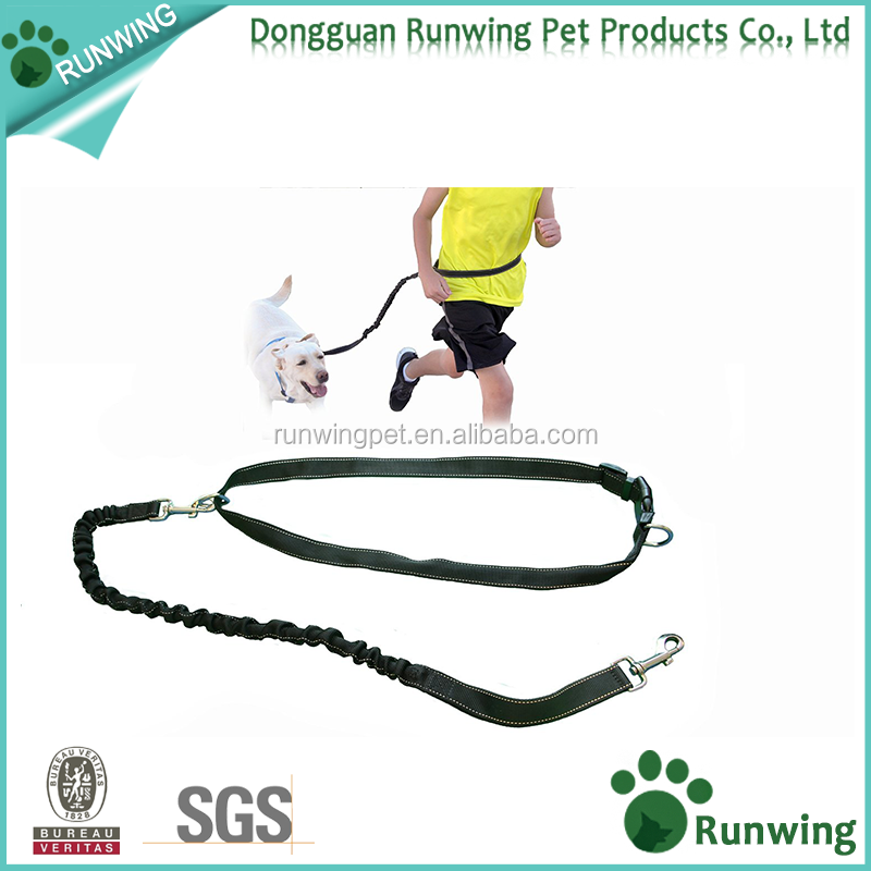 Hands Free Leash for Dogs - Premier Reflective Dog Running Leash - Flexible Durable Bungee to Absorb Force