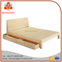 hot sale simple modern wood bed
