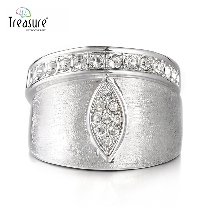2015 unique zinc alloy jewelry ring one eye diamond and alloy ring