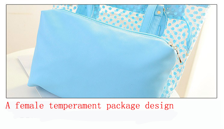 transparent pvc beach bag