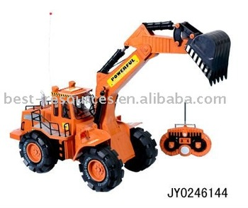 8 channels R/C tractor