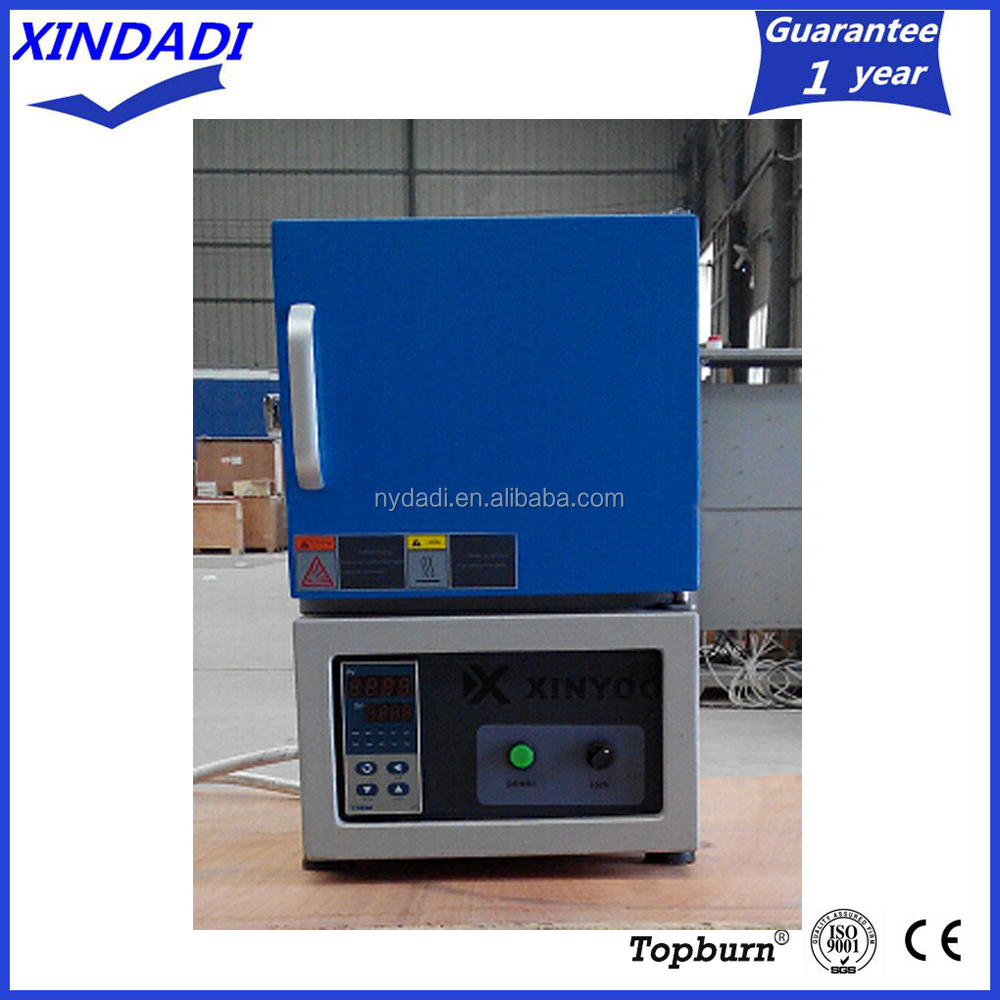 10KG Weight and 100x100x100mm chamber size 1200C high temperature mini sintering muffle furnace for lab using