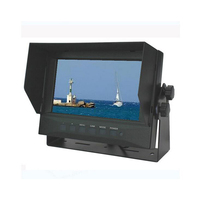 7 Inches TFT LCD Color Digital Monitor For Van