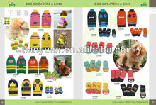 Fashion knitting dog sock and sweathers direct supplier
