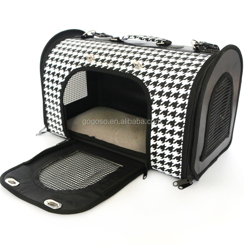 Folding Soft Dog Crate, Indoor & Outdoor Pet Home Dog Cages Crates