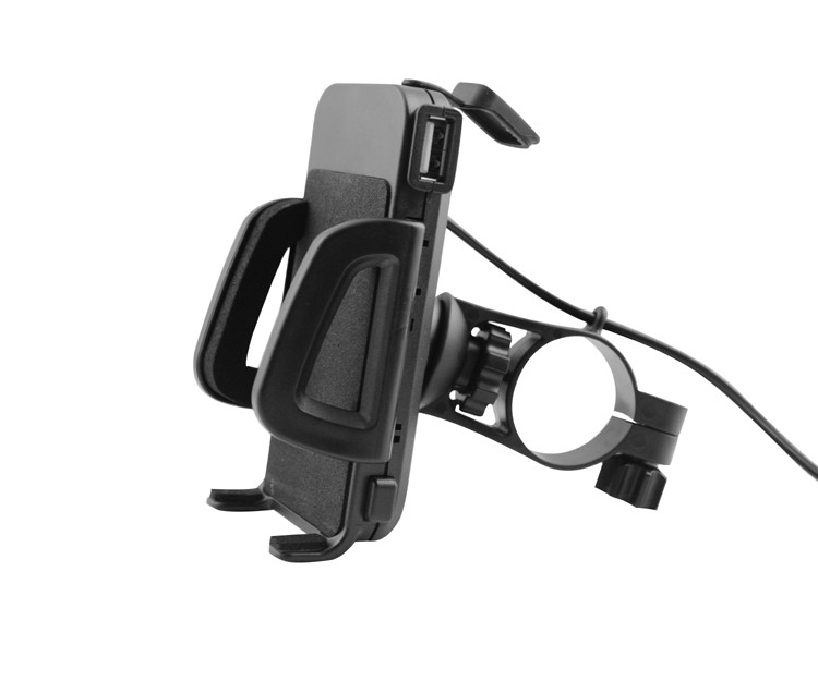 hot waterproof phone motorcycle usb charger with holder