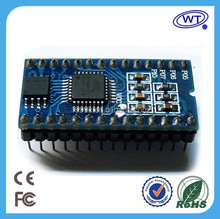 Built in DSP audio processor 28-pin WAV voice chip/ module
