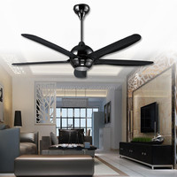 LED Ceiling 56 inch India ceiling fans decorative ceiling fan pull chain switch