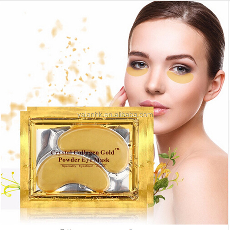 24K Anti-Wrinkle Moisturizing Collagen Gold Eye Mask