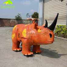 KANOSAUR0007 Theme Park Kiddie Animatronic Walking Animal Ride for sale