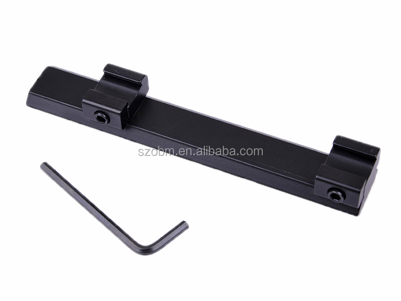10mm to 21mm Tactical Hunting Riflescope Gun Scope Mount Dovetail Weaver Picatinny Rail Adapter