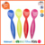 China Factory Supplier Solid Color Plastic Melamine Flatware Set