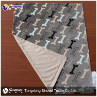 Hot Sale!!!! Wholesale Polyester Super Soft Pet Fleece Blanket