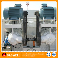 China twin shaft electric motor portable concrete mixer machine in kenya