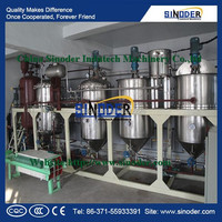 For different capacity peanut/ sunflower / sesame/ palm/ soybean / coconut / crude oil refinery for cooking oil