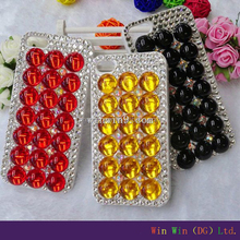New arrival case and very attractive studded mobile phone case with Pyramid Rivet