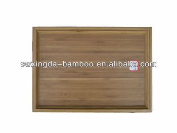 Bamboo Tea Cup Tray