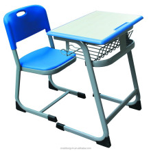 Single school desk and chair school furniture price suppliers in south africa