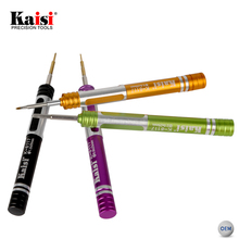 Kaisi Mobile Phone Repair Torx Screwdriver Opening Tool Kit With Magnetic For iPhone iPad Laptop