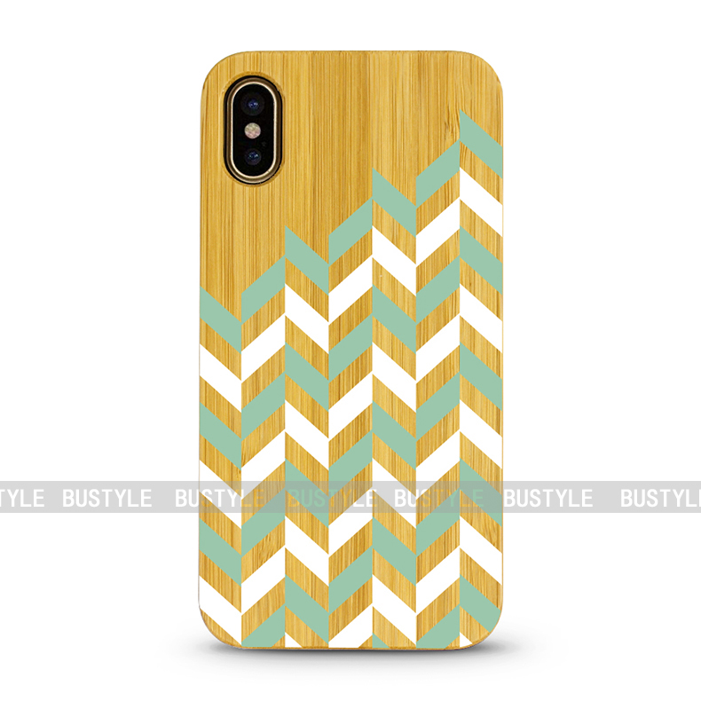 Natural wood smartphone case for iphone x bamboo wood for samsung galaxy s6 s7 edge wood case for s8 s8plus
