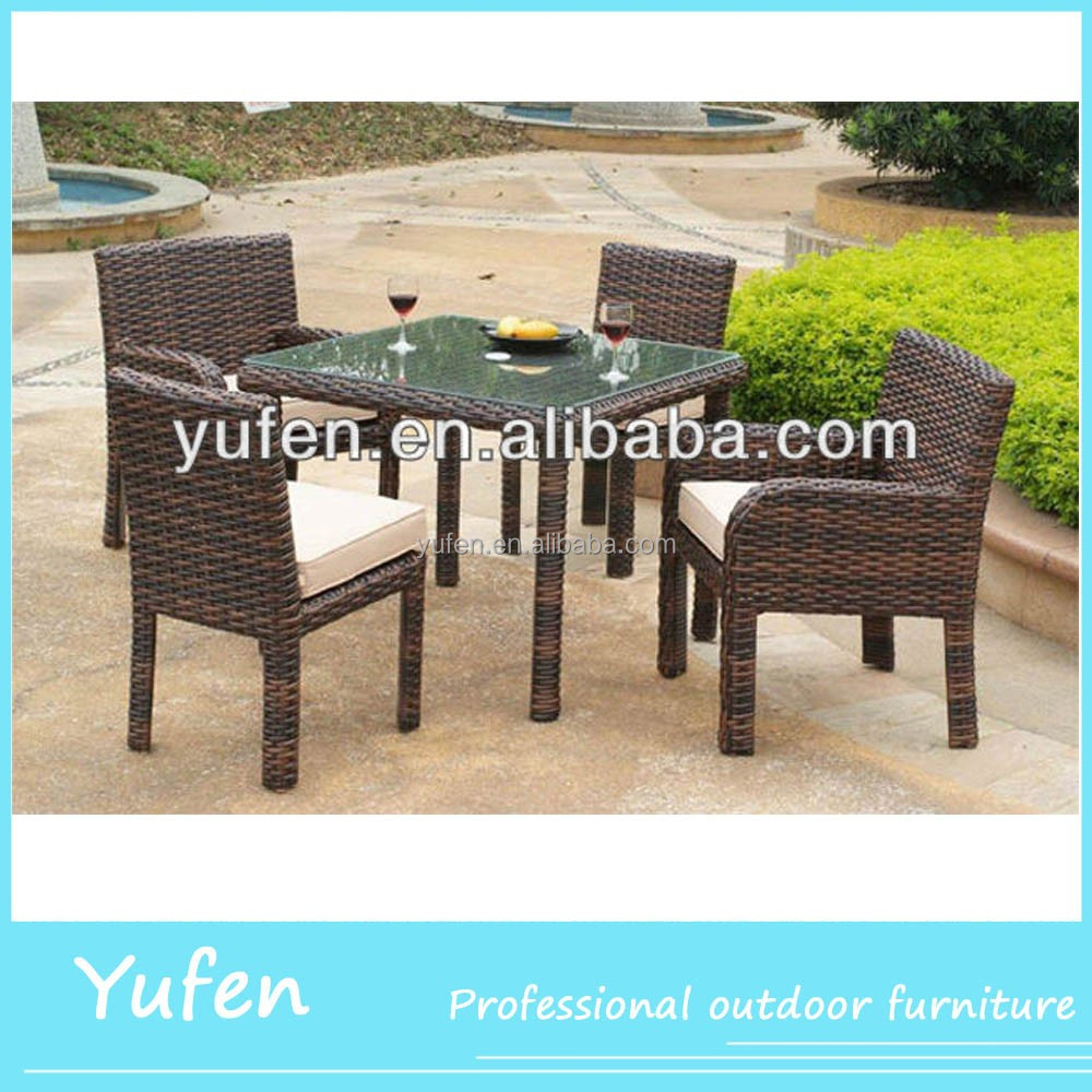 5pcs wicker used dining room furniture for sale