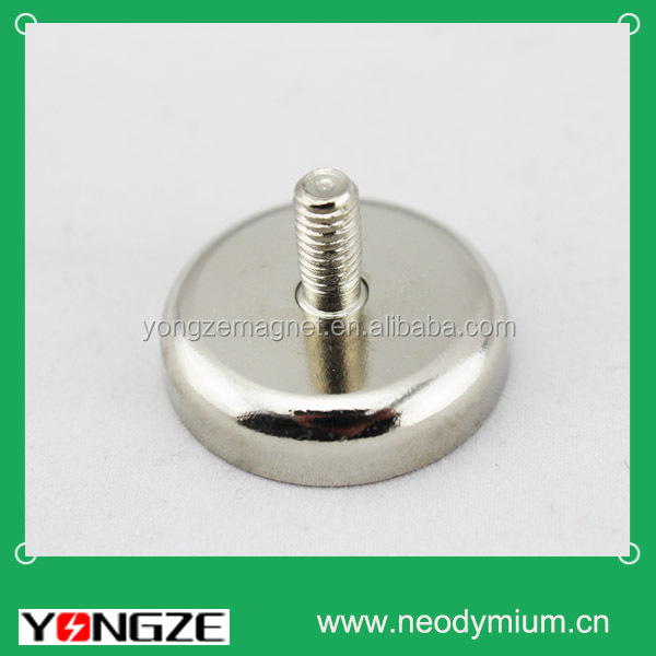 Neodymium magnet pot/strong magnet holder/powerful magnetic hook