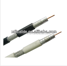 Competitive price CCS/CCA/BC Foamed PE AL shield RG59 Coaxial cable