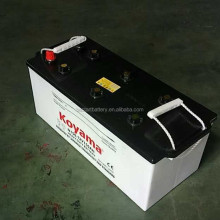 N150 12V150AH car storage battery dry charged auto battery