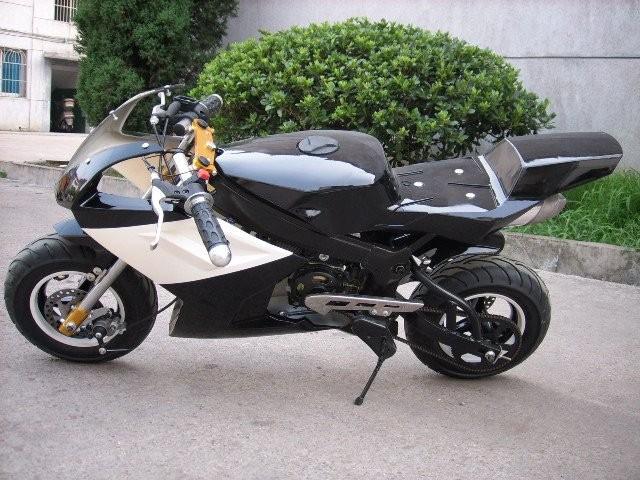 Superb Cheap Super Kids Electric Start Gasoline Pocket Bike Nice Look