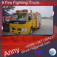 dongfeng 4x2 inflatable fire truck,led light bar fire truck for sale