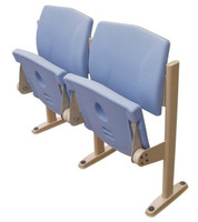 plastic stadium chair from Spring company/stadium seat made of plastic/auditorium chair for sale
