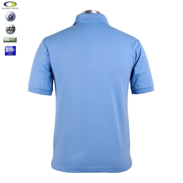 High Quality 100 Cotton Pique Mens Customized Polo T
