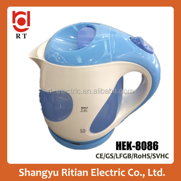 home kitchen <strong>appliance</strong> wholesale used <strong>appliances</strong> 1.2L plastic electric water kettle