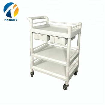 AC-UT013 hot sale abs medical equipment utility carts trolleys