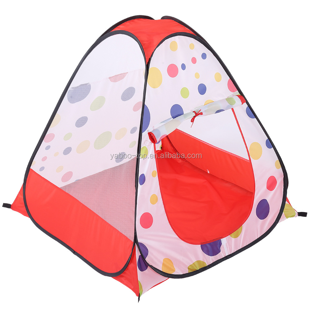 Kids Play Tent Game House Camping Tent Portable Ocean Ball Outdoor Fun Lawn Tent