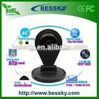 Home Baby camera TF card Rotating Outdoor Security Camera